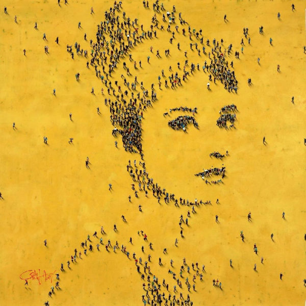 Audrey Hepburn No. 4 by Craig Alan at Art Leaders Gallery - Michigan's Finest Art Gallery