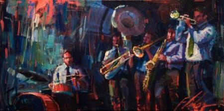 "Blue Note by Michael Flohr at Art Leaders Gallery, voted ""Michigan's Best Fine Art Gallery"" is located in the heart of West Bloomfield. This full service fine art gallery is the destination for all your art and custom picture framing needs. Our extensive inventory of art includes styles ranging from contemporary to traditional. The gallery represents international, national, and emerging new talent as well as local Michigan artists."