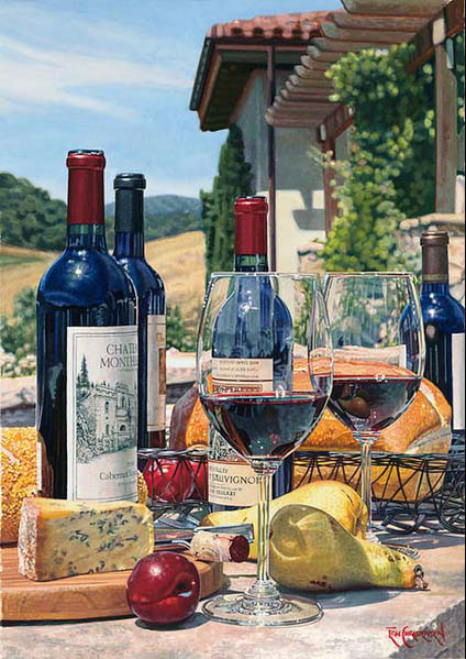Cabernet Day by Eric Christensen at Art Leaders Gallery - Michigan's Finest Art Gallery