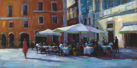 "Ciao Bella by Michael Flohr at Art Leaders Gallery, voted ""Michigan's Best Fine Art Gallery"" is located in the heart of West Bloomfield. This full service fine art gallery is the destination for all your art and custom picture framing needs. Our extensive inventory of art includes styles ranging from contemporary to traditional. The gallery represents international, national, and emerging new talent as well as local Michigan artists."