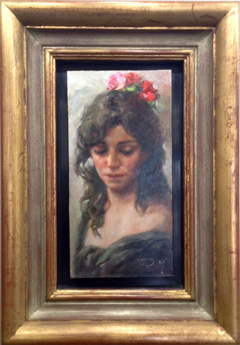 "Claveles by Jose Royo at Art Leaders Gallery, voted ""Michigan's Best Fine Art Gallery"" is located in the heart of West Bloomfield. This full service fine art gallery is the destination for all your art and custom picture framing needs. Our extensive inventory of art includes styles ranging from contemporary to traditional. The gallery represents international, national and emerging new talent as well as local Michigan artists."