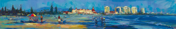 "Coronado Beach Walks by Michael Flohr at Art Leaders Gallery, voted ""Michigan's Best Fine Art Gallery"" is located in the heart of West Bloomfield. This full service fine art gallery is the destination for all your art and custom picture framing needs. Our extensive inventory of art includes styles ranging from contemporary to traditional. The gallery represents international, national, and emerging new talent as well as local Michigan artists."