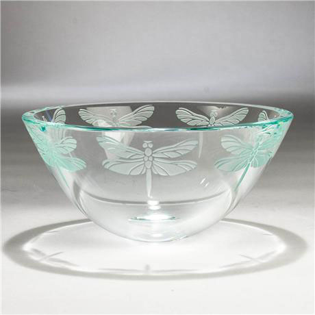 Dragonfly Bowl by Stephen Schlanser at Art Leaders Gallery - Michigan's Finest Art Gallery