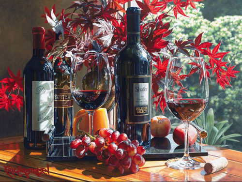 Elegant Afternoon by Eric Christensen at Art Leaders Gallery - Michigan's Finest Art Gallery
