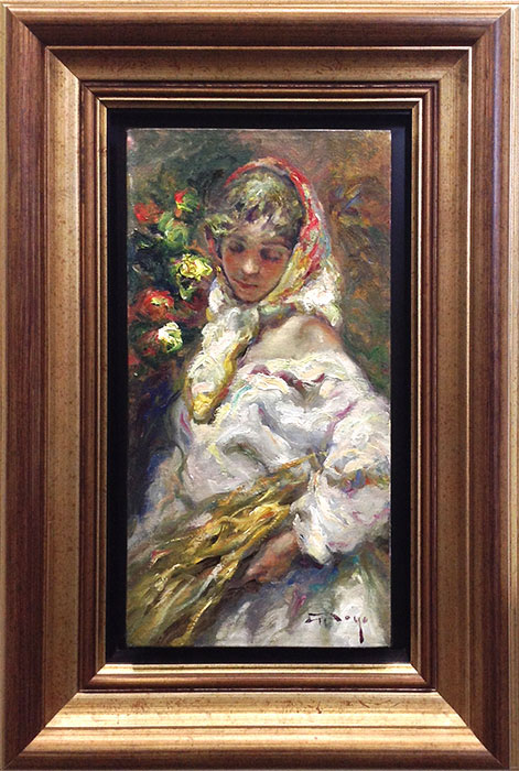 "En El Campo, Original by Jose Royo at Art Leaders Gallery, voted ""Michigan's Best Fine Art Gallery"" is located in the heart of West Bloomfield. This full service fine art gallery is the destination for all your art and custom picture framing needs. Our extensive inventory of art includes styles ranging from contemporary to traditional. The gallery represents international, national and emerging new talent as well as local Michigan artists."