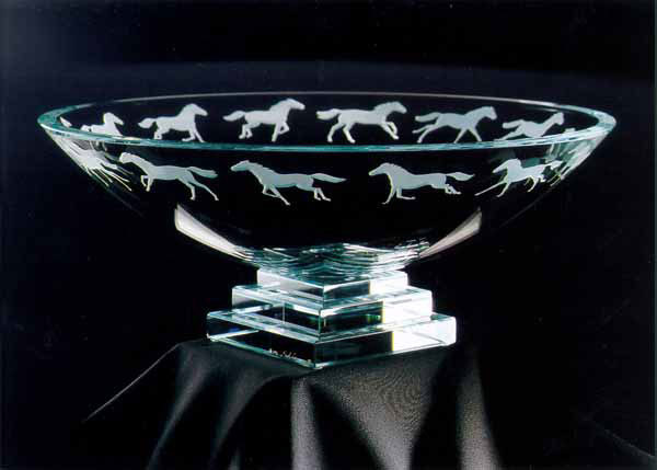 Equus Bowl by Stephen Schlanser at Art Leaders Gallery - Michigan's Finest Art Gallery