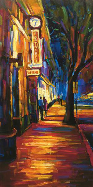 "Fontaine's by Michael Flohr at Art Leaders Gallery, voted ""Michigan's Best Fine Art Gallery"" is located in the heart of West Bloomfield. This full service fine art gallery is the destination for all your art and custom picture framing needs. Our extensive inventory of art includes styles ranging from contemporary to traditional. The gallery represents international, national, and emerging new talent as well as local Michigan artists."
