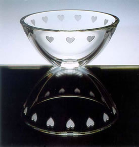 Heart Bowl by Stephen Schlanser at Art Leaders Gallery - Michigan's Finest Art Gallery