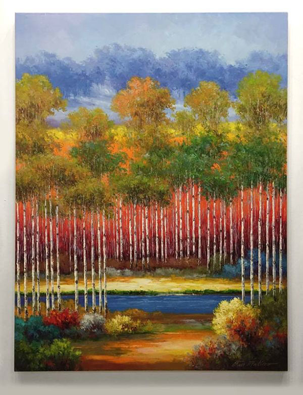 """In Living Color IV by Van Matino at Art Leaders Gallery, voted """"Michigan's Best Fine Art Gallery"""" is located in the heart of West Bloomfield. This full service fine art gallery is the destination for all your art and custom picture framing needs. Our extensive inventory of art includes styles ranging from contemporary to traditional. The gallery represents international, national, and emerging new talent as well as local Michigan artists."""