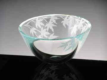 Japanese Maple Bowl by Stephen Schlanser at Art Leaders Gallery - Michigan's Finest Art Gallery