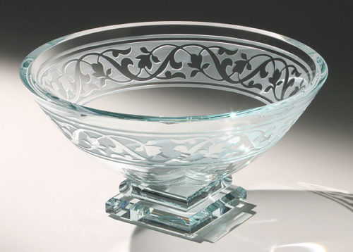 Le Jardin Bowl by Stephen Schlanser at Art Leaders Gallery - Michigan's Finest Art Gallery
