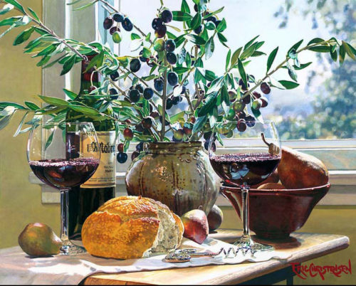 Los Olivos by Eric Christensen at Art Leaders Gallery - Michigan's Finest Art Gallery