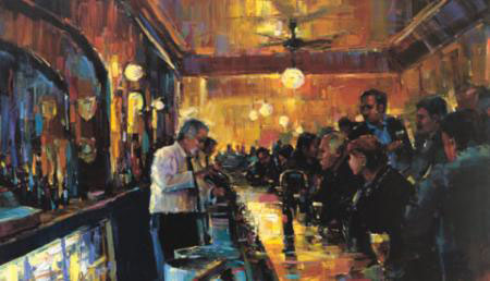 "Luck of the Irish by Michael Flohr at Art Leaders Gallery, voted ""Michigan's Best Fine Art Gallery"" is located in the heart of West Bloomfield. This full service fine art gallery is the destination for all your art and custom picture framing needs. Our extensive inventory of art includes styles ranging from contemporary to traditional. The gallery represents international, national, and emerging new talent as well as local Michigan artists."