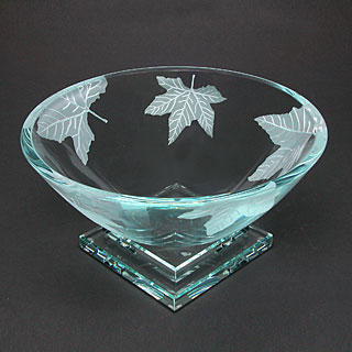 Maple Leaf Bowl by Stephen Schlanser at Art Leaders Gallery - Michigan's Finest Art Gallery