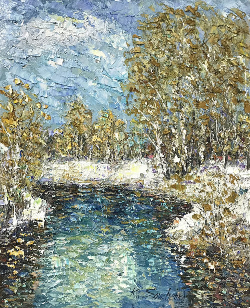 """March"" by Konstantin Savchenko at Art Leaders Gallery, voted ""Michigan's Best Fine Art Gallery"" is located in the heart of West Bloomfield. This full service fine art gallery is the destination for all your art and custom picture framing needs. Our extensive inventory of art includes styles ranging from contemporary to traditional. The gallery represents international, national, and emerging new talent as well as local Michigan artists."