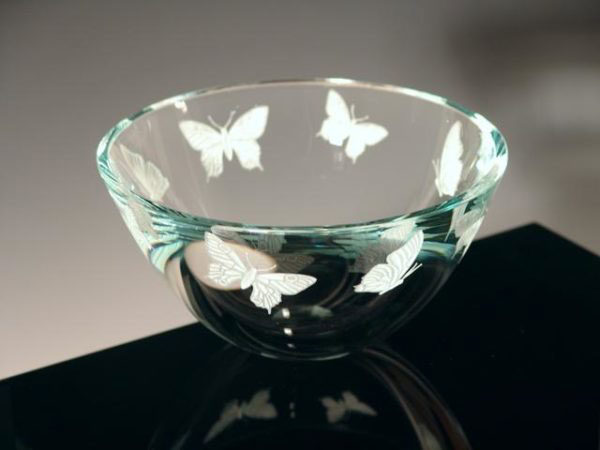 Mariposa Bowl by Stephen Schlanser at Art Leaders Gallery - Michigan's Finest Art Gallery