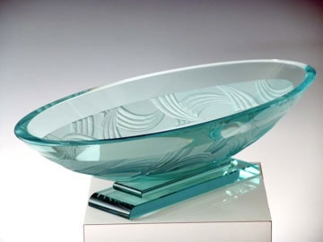 Nova Oval Bowl by Stephen Schlanser at Art Leaders Gallery - Michigan's Finest Art Gallery