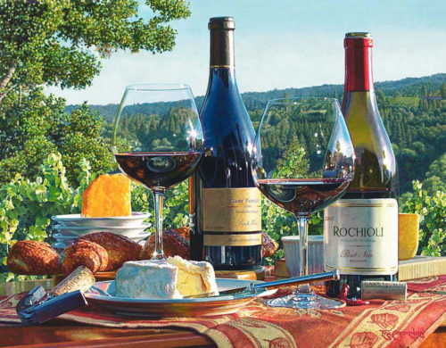 Passion for Pinot by Eric Christensen at Art Leaders Gallery - Michigan's Finest Art Gallery