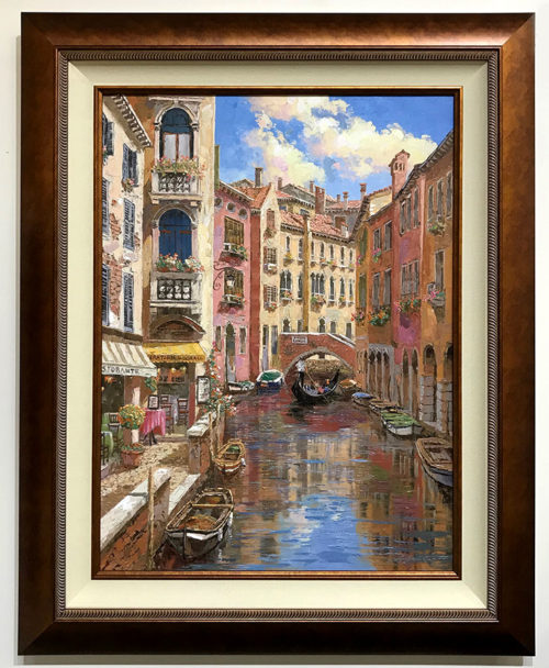 "Ponte Longo by S. Sam Park at Art Leaders Gallery, voted ""Michigan's Best Fine Art Gallery"" is located in the heart of West Bloomfield. This full service fine art gallery is the destination for all your art and custom picture framing needs. Our extensive inventory of art includes styles ranging from contemporary to traditional. The gallery represents international, national and emerging new talent as well as local Michigan artists."