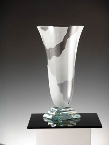 Rio De Janiero Vase by Stephen Schlanser at Art Leaders Gallery - Michigan's Finest Art Gallery