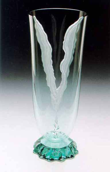 Riptide Vase by Stephen Schlanser at Art Leaders Gallery - Michigan's Finest Art Gallery