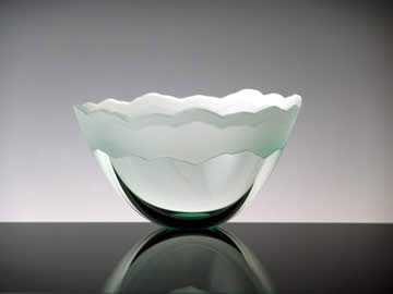 Scapes Bowl by Stephen Schlanser at Art Leaders Gallery - Michigan's Finest Art Gallery