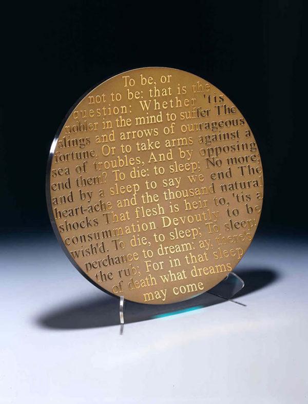 Shakespeare's Hamlet Platter by Stephen Schlanser at Art Leaders Gallery - Michigan's Finest Art Gallery