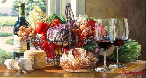 Sonoma Kitchen by Eric Christensen at Art Leaders Gallery - Michigan's Finest Art Gallery