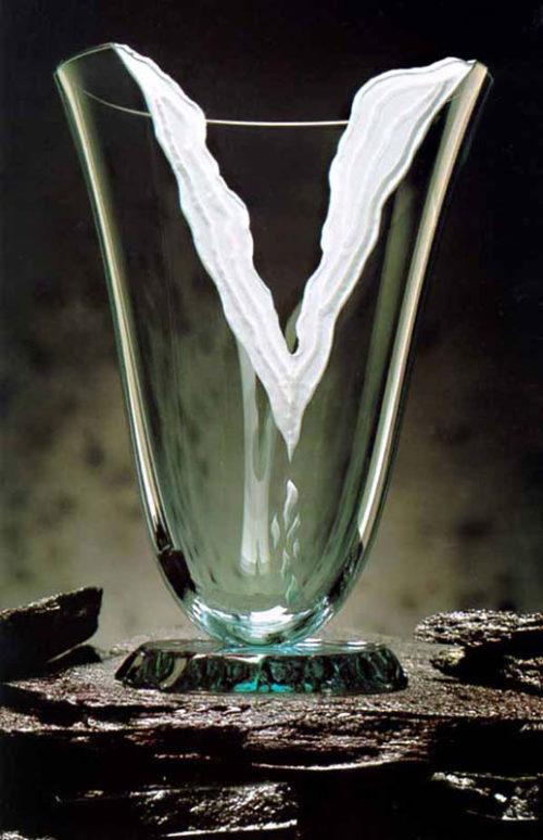 Torn Victory Vase by Stephen Schlanser at Art Leaders Gallery - Michigan's Finest Art Gallery