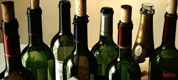 Eight Empties by Thomas Arvid at Art Leaders Gallery - Michigan's Finest Art Gallery