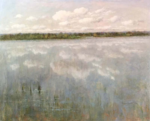 """A Peaceful Day II by R. Scott at Art Leaders Gallery, voted """"Michigan's Best Fine Art Gallery"""" is located in the heart of West Bloomfield. This full service fine art gallery is the destination for all your art and custom picture framing needs. Our extensive inventory of art includes styles ranging from contemporary to traditional. The gallery represents international, national, and emerging new talent as well as local Michigan artists."""