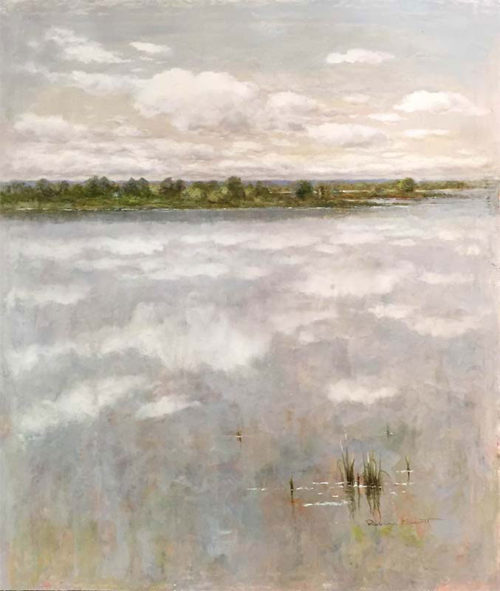 """A Peaceful Day IV by R. Scott at Art Leaders Gallery, voted """"Michigan's Best Fine Art Gallery"""" is located in the heart of West Bloomfield. This full service fine art gallery is the destination for all your art and custom picture framing needs. Our extensive inventory of art includes styles ranging from contemporary to traditional. The gallery represents international, national, and emerging new talent as well as local Michigan artists."""