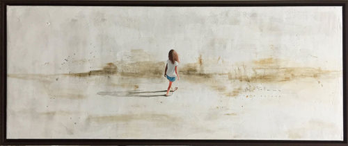 "Beach Walk I by Berta Solana at Art Leaders Gallery, voted ""Michigan's Best Fine Art Gallery"" is located in the heart of West Bloomfield. This full service fine art gallery is the destination for all your art and custom picture framing needs. Our extensive inventory of art includes styles ranging from contemporary to traditional. The gallery represents international, national, and emerging new talent as well as local Michigan artists."