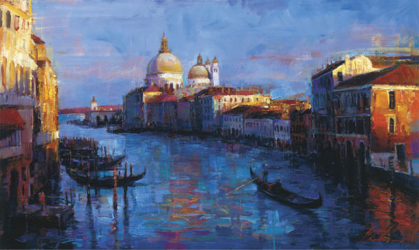 """Beautiful Venice by Michael Flohr at Art Leaders Gallery, voted """"Michigan's Best Fine Art Gallery"""" is located in the heart of West Bloomfield. This full service fine art gallery is the destination for all your art and custom picture framing needs. Our extensive inventory of art includes styles ranging from contemporary to traditional. The gallery represents international, national, and emerging new talent as well as local Michigan artists."""