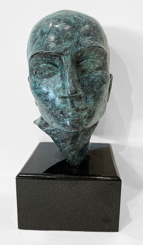 Male Head Sculpture