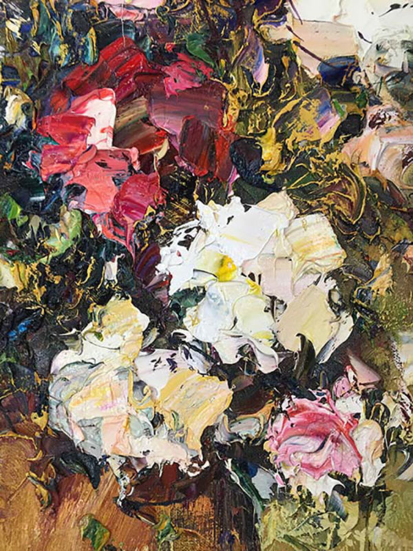 """Rose Bouquet"" by Konstantin Savchenko at Art Leaders Gallery, voted ""Michigan's Best Fine Art Gallery"" is located in the heart of West Bloomfield. This full service fine art gallery is the destination for all your art and custom picture framing needs. Our extensive inventory of art includes styles ranging from contemporary to traditional. The gallery represents international, national, and emerging new talent as well as local Michigan artists."