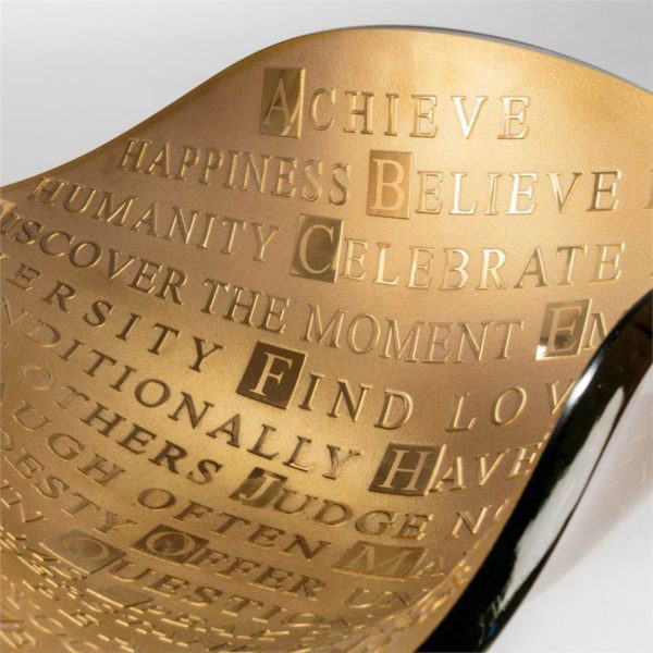 ABCs of Life Vessel by Stephen Schlanser at Art Leaders Gallery - Michigan's Finest Art Gallery