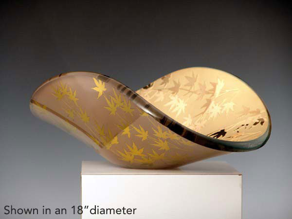 Japanese Maple Vessel by Stephen Schlanser at Art Leaders Gallery - Michigan's Finest Art Gallery
