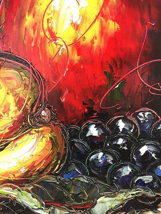 "October Harvest by Van Matino at Art Leaders Gallery, voted ""Michigan's Best Fine Art Gallery"" is located in the heart of West Bloomfield. This full service fine art gallery is the destination for all your art and custom picture framing needs. Our extensive inventory of art includes styles ranging from contemporary to traditional. The gallery represents international, national, and emerging new talent as well as local Michigan artists."
