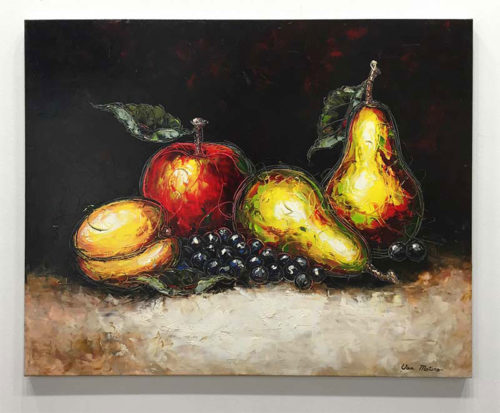 """October Harvest by Van Matino at Art Leaders Gallery, voted """"Michigan's Best Fine Art Gallery"""" is located in the heart of West Bloomfield. This full service fine art gallery is the destination for all your art and custom picture framing needs. Our extensive inventory of art includes styles ranging from contemporary to traditional. The gallery represents international, national, and emerging new talent as well as local Michigan artists."""