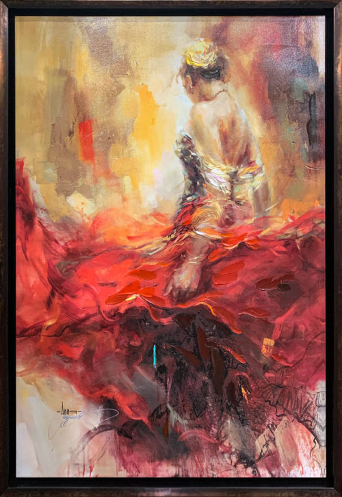 """Alegria"" by Anna Razumovskaya at Art Leaders Gallery, voted ""Michigan's Best Fine Art Gallery"" is located in the heart of West Bloomfield. This full service fine art gallery is the destination for all your art and custom picture framing needs. Our extensive inventory of art includes styles ranging from contemporary to traditional. The gallery represents international, national and emerging new talent as well as local Michigan artists."