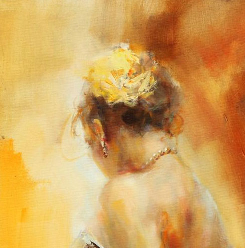 """""""Alegria"""" by Anna Razumovskaya at Art Leaders Gallery, voted """"Michigan's Best Fine Art Gallery"""" is located in the heart of West Bloomfield. This full service fine art gallery is the destination for all your art and custom picture framing needs. Our extensive inventory of art includes styles ranging from contemporary to traditional. The gallery represents international, national and emerging new talent as well as local Michigan artists."""