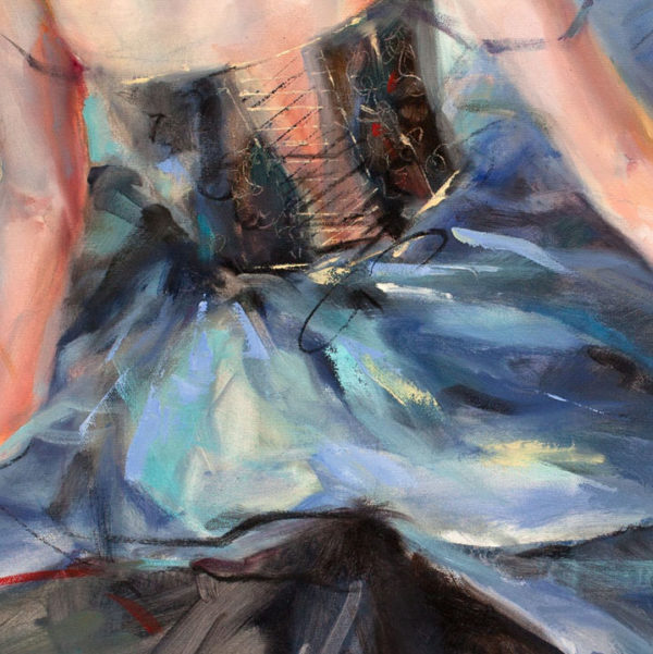 """Emphasis I"" by Anna Razumovskaya at Art Leaders Gallery, voted ""Michigan's Best Fine Art Gallery"" is located in the heart of West Bloomfield. This full service fine art gallery is the destination for all your art and custom picture framing needs. Our extensive inventory of art includes styles ranging from contemporary to traditional. The gallery represents international, national and emerging new talent as well as local Michigan artists."