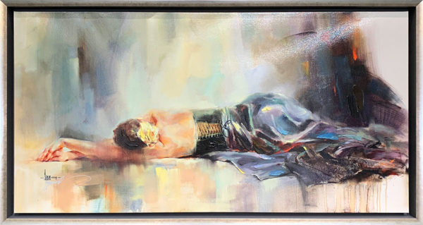 """Serenity"" by Anna Razumovskaya at Art Leaders Gallery, voted ""Michigan's Best Fine Art Gallery"" is located in the heart of West Bloomfield. This full service fine art gallery is the destination for all your art and custom picture framing needs. Our extensive inventory of art includes styles ranging from contemporary to traditional. The gallery represents international, national and emerging new talent as well as local Michigan artists."