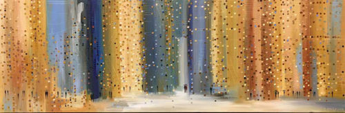 Rainy Day by Ekaterina Ermilkina at Art Leaders Gallery - Michigan's Finest Art Gallery