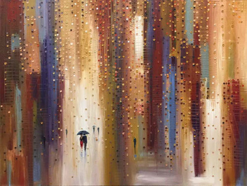 Twilight Stroll by Ekaterina Ermilkina at Art Leaders Gallery - Michigan's Finest Art Gallery