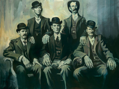 "Wild Bunch by Gabe Leonard at Art Leaders Gallery, voted ""Michigan's Best Fine Art Gallery"" is located in the heart of West Bloomfield. This full service fine art gallery is the destination for all your art and custom picture framing needs. Our extensive inventory of art includes styles ranging from contemporary to traditional. The gallery represents international, national and emerging new talent as well as local Michigan artists."
