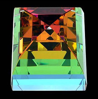 "Crystal Pyramid by Harold Lustig at Art Leaders Gallery, voted ""Michigan's Best Fine Art Gallery"" is located in the heart of West Bloomfield. This full service fine art gallery is the destination for all your art and custom picture framing needs. Our extensive inventory of art includes styles ranging from contemporary to traditional. The gallery represents international, national, and emerging new talent as well as local Michigan artists."