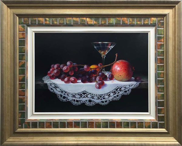Un Martini con Frutas by Sung Kim at Art Leaders Gallery - Michigan's Finest Art Gallery