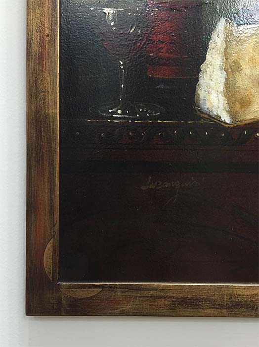 Vinos y Queso by Bartolome Luzanquis at Art Leaders Gallery - Michigan's Finest Art Gallery